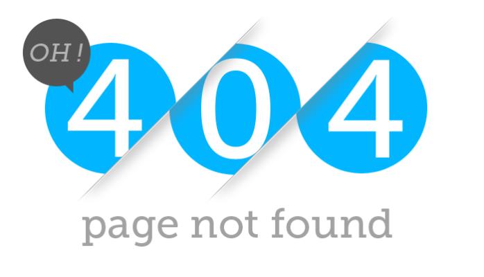 404 Error 404